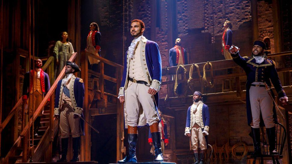 Musical na Broadway - Hamilton - Foto Joan Marcus