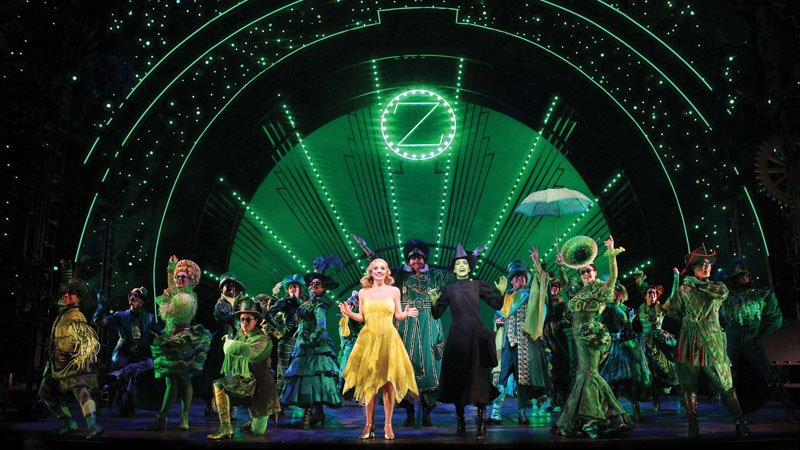 Musical na Broadway - Wicked as bruxas de Oz