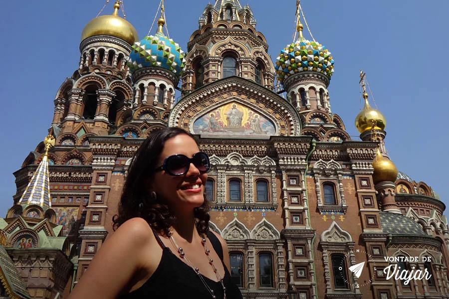 O que fazer em Sao Petersburgo - Catedral do Sangue Derramado
