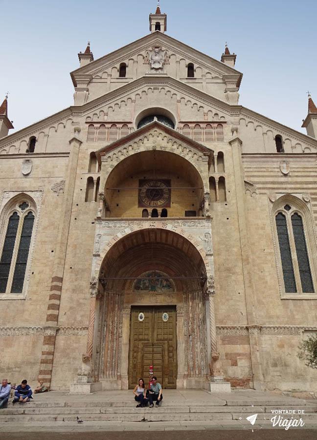 O que fazer em Verona Italia - Igrejas de Verona Duomo de Verona