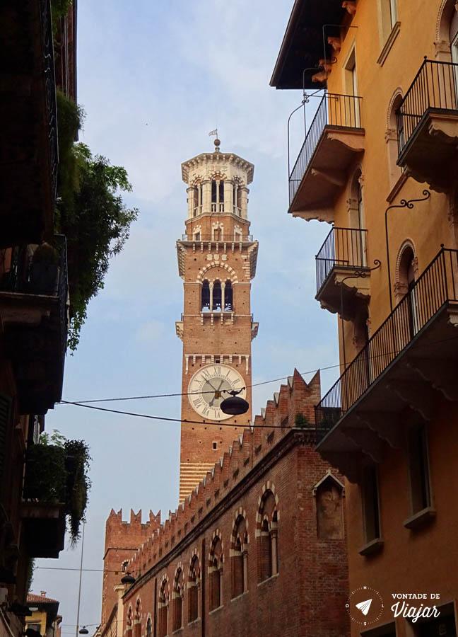 O que fazer em Verona Italia - Torre dei Lamberti