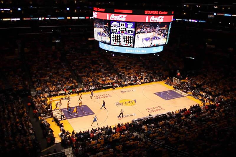 O que fazer em Los Angeles - Jogo NBA Lakers