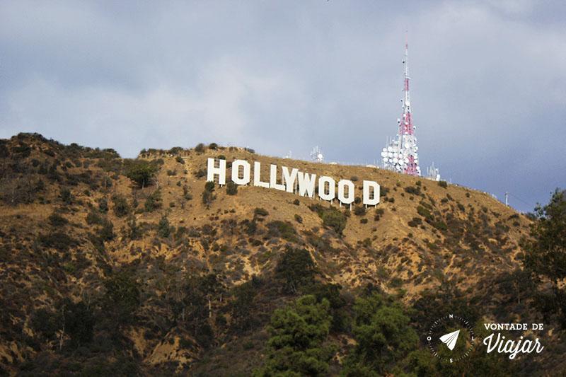 O que fazer em Los Angeles - Letreiro de Hollywood