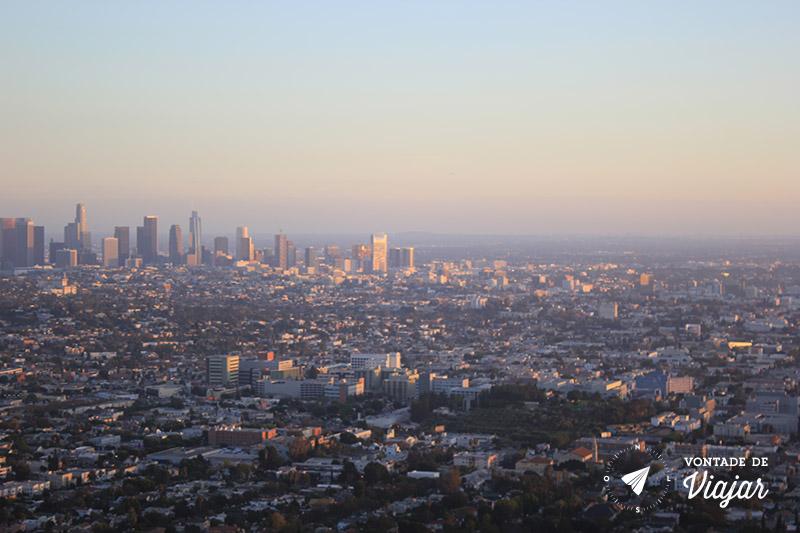 O que fazer em Los Angeles - Vista do Griffith Observatory