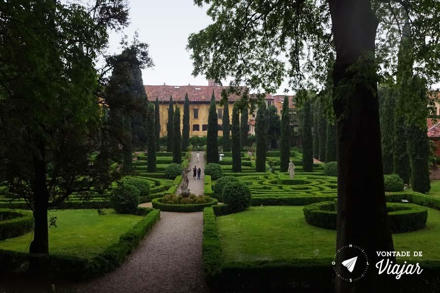 O que fazer em Verona - Giardino Giusti Jardim em Verona
