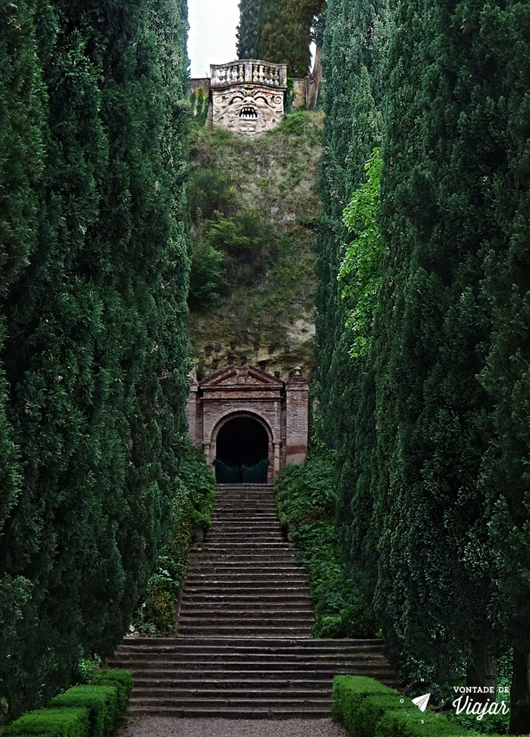 O que fazer em Verona - Giardino Giusti Mirante