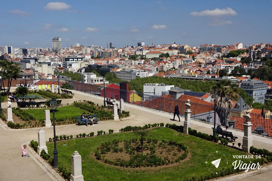 Tour em Lisboa - Miradouro Sao Pedro de Alcantara