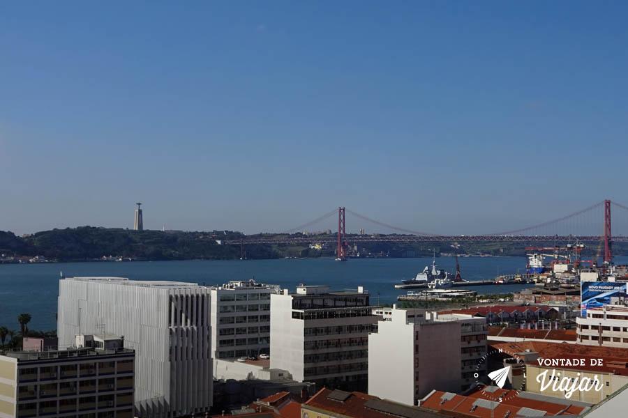 Tour em Lisboa - Miradouro de Santa Catarina