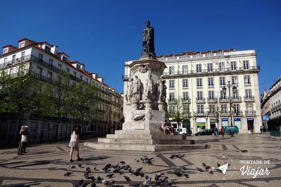 Tour em Lisboa - Monumento a Luis de Camoes