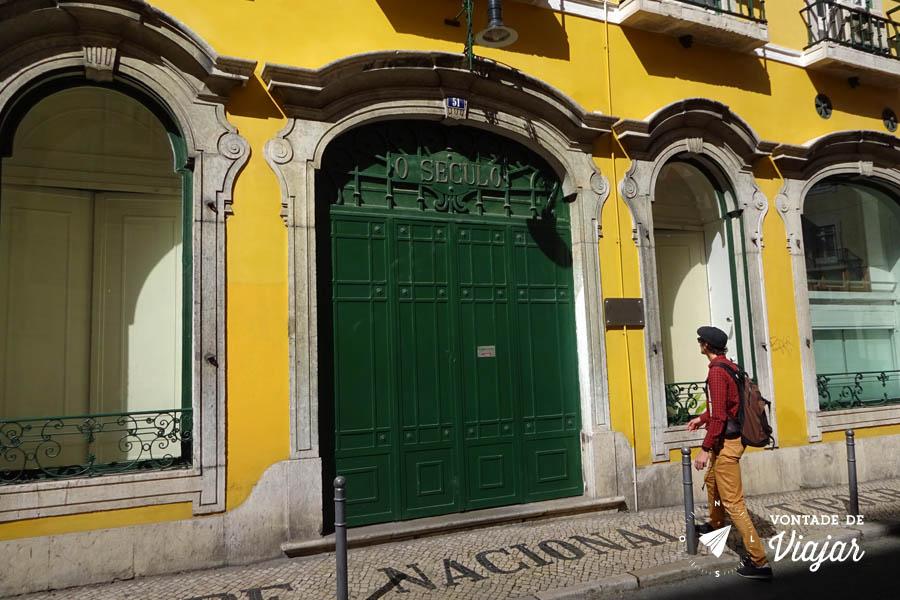 Tour em Lisboa - Rua de O Seculo
