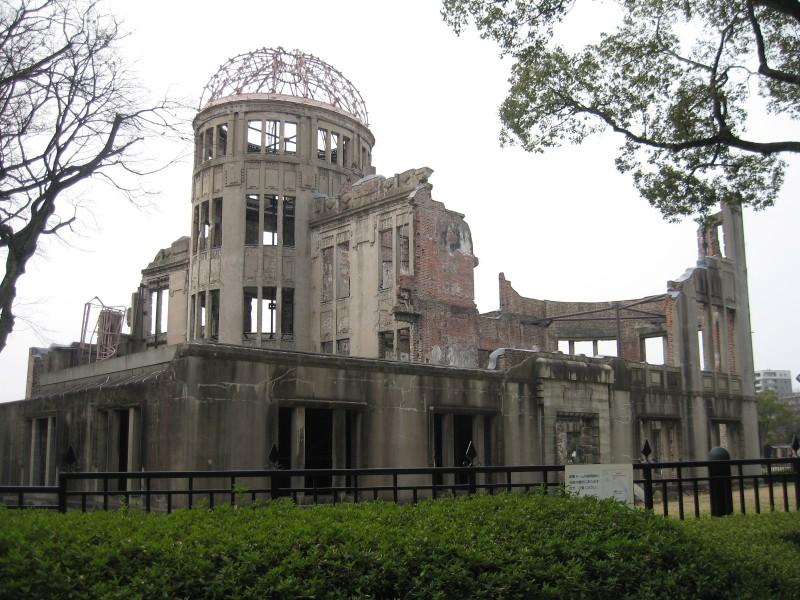 Roteiro Japao - A-Bomb Dome Hiroshima - predio destruido pela bomba atomica