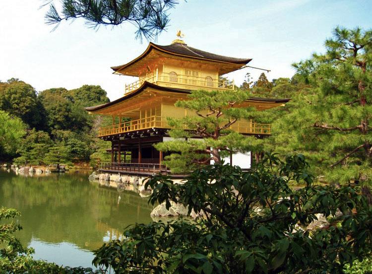 Roteiro Japao - Kinkaku-ji Templo Dourado Kyoto