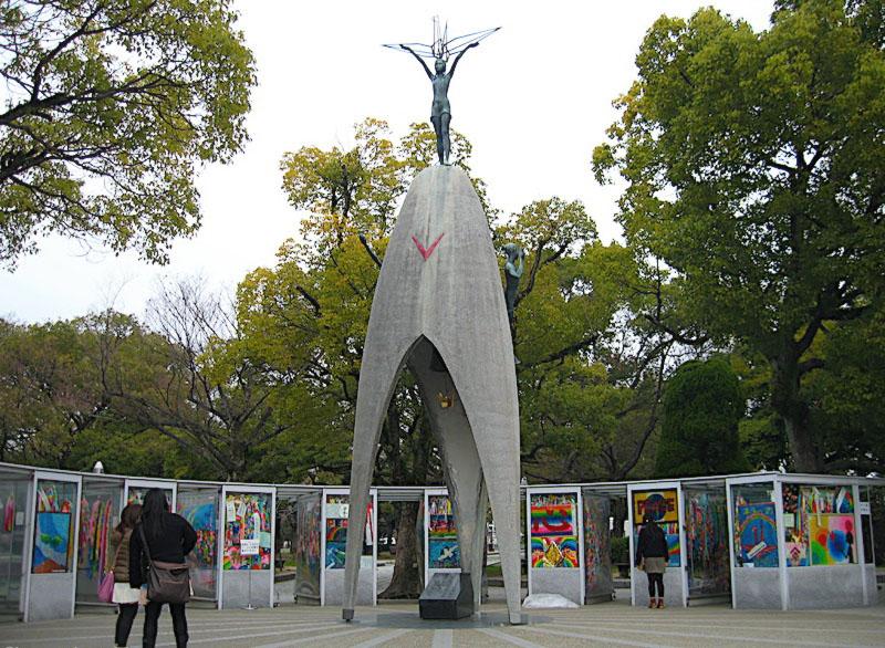 Roteiro Japao - Parque da Paz Hiroshima - Monumento das Criancas