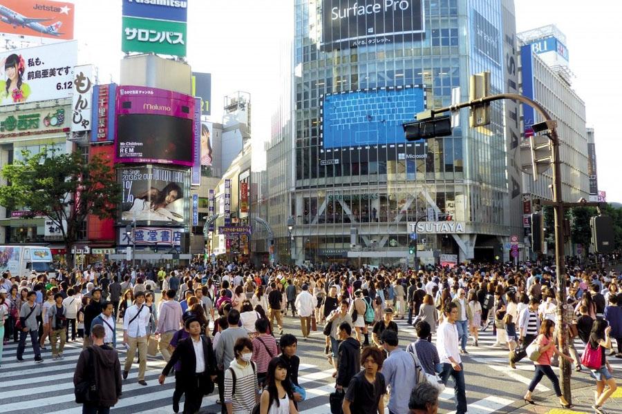 Roteiro Japao - Tokyo cruzamento Shibuya