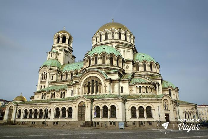 Roteiro de viagem Bulgaria - Catedral Alexander Nevski