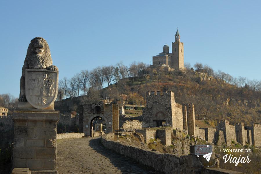 Roteiro de viagem Bulgaria - Fortaleza Tsarevets Veliko Tarnovo