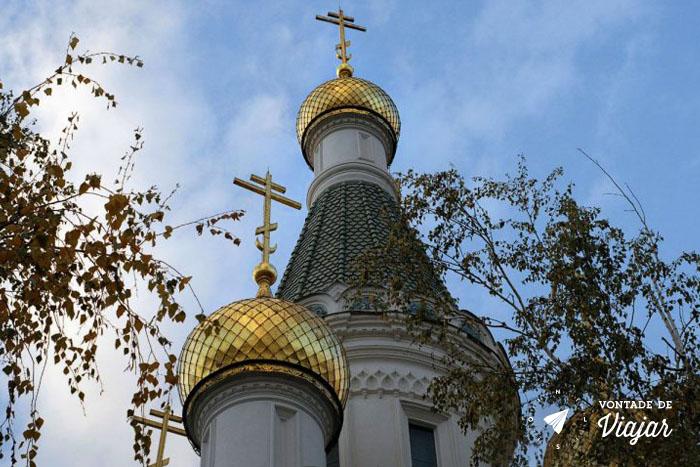 Roteiro de viagem Bulgaria - Igreja Russa em Sofia
