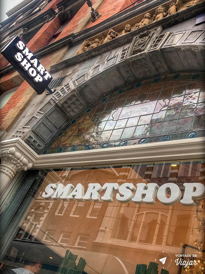 Amsterdam - Drogas - Smart shop loja cogumelos