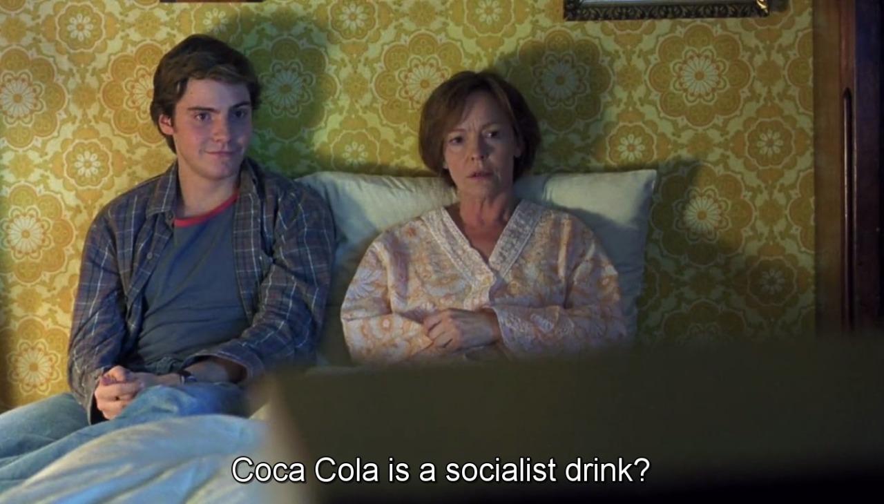 Filmes em Berlim - Adeus Lenin - Coca Cola