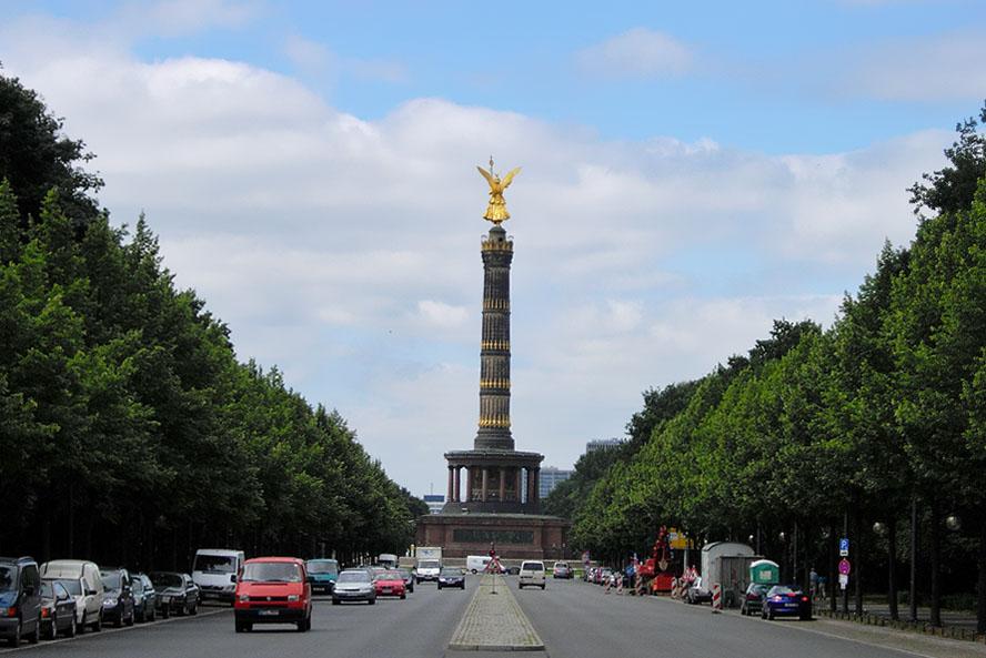 Filmes em Berlim - Siegessaule Coluna da Vitoria - Foto Andy H McDowall