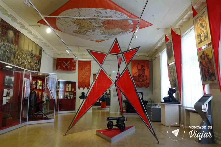 O que fazer em Moscou - Museu de Historia Contemporanea da Russia