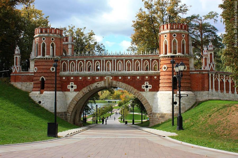 Turismo em Moscou - Parque Tsaritsyno - Foto Ricardo Viana