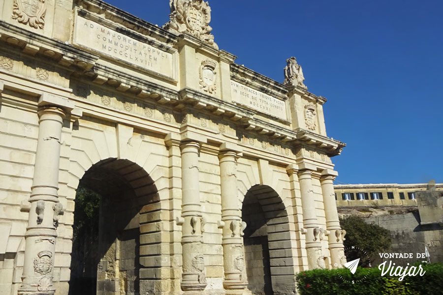 Onde ficar em Malta - Valletta - Floriana Gate
