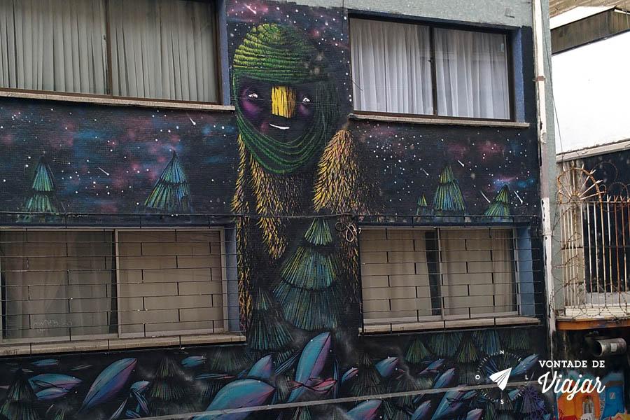 Street art em Valparaiso - Arte urbana Chile
