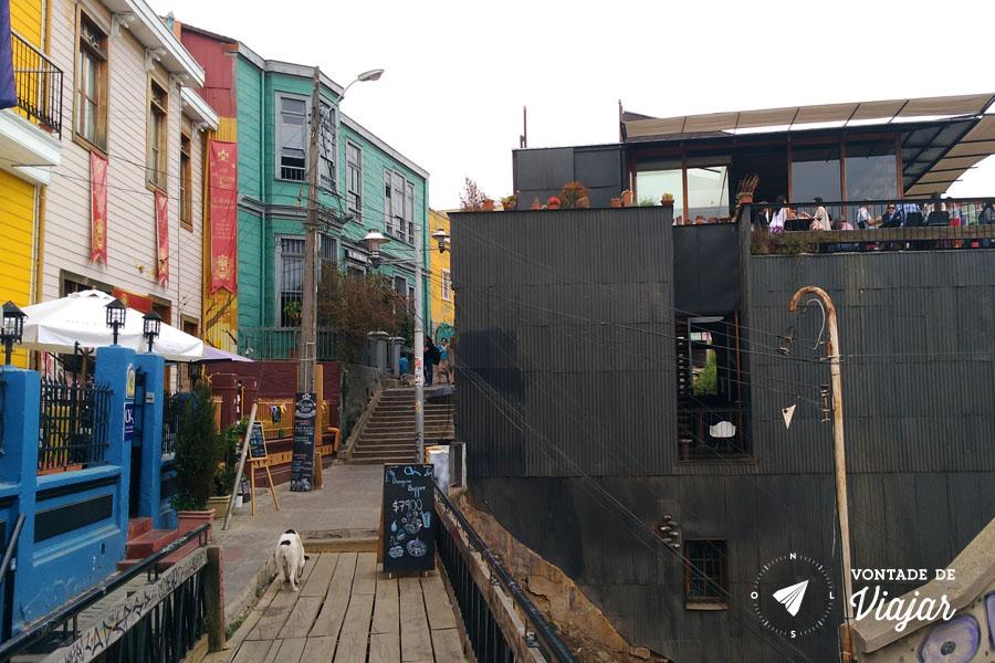 Street art em Valparaiso - Bares atelies e rooftop bar em Valparaiso