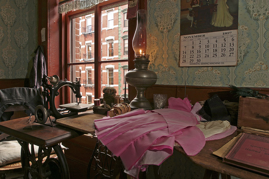 Tenement Museum - Casa da familia Levine - Foto Battman Studios