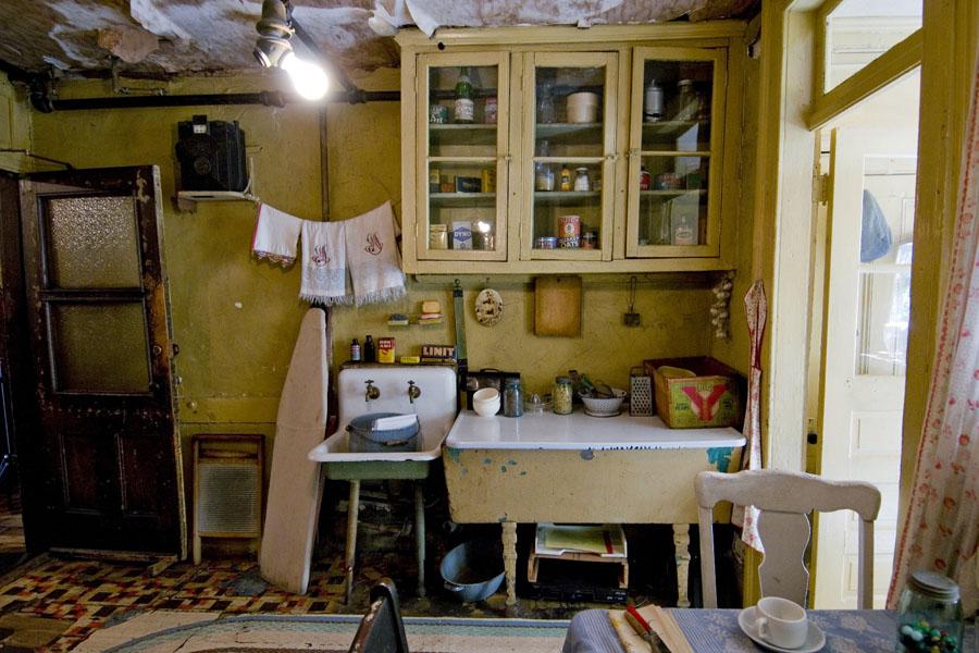 Tenement Museum - Cozinha da familia Baldizzi - Foto Keiko Niwa