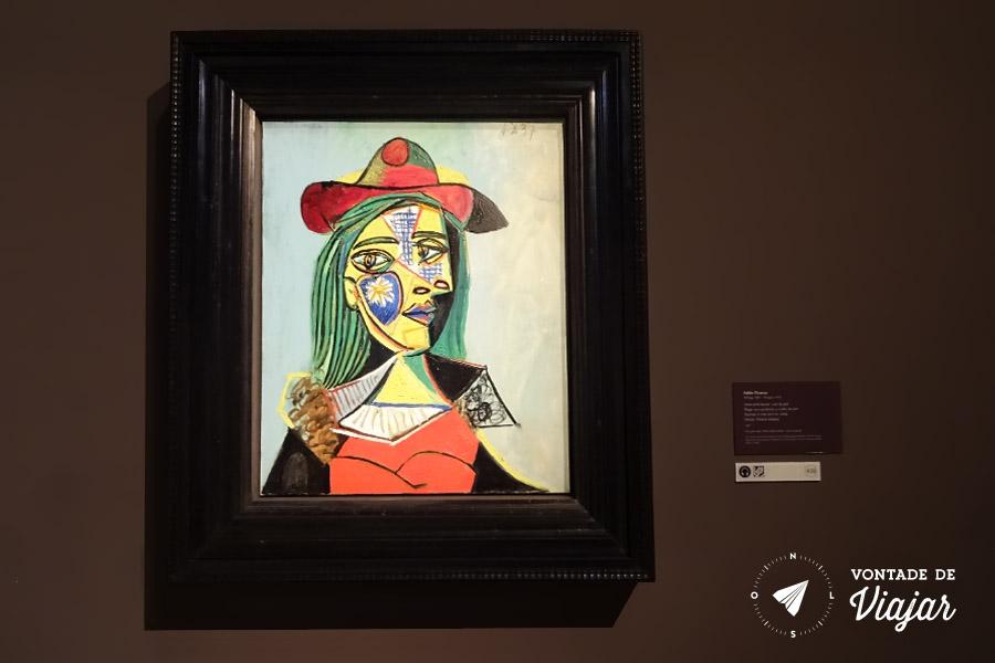 MNAC Barcelona - Mulher com chapeu - Picasso