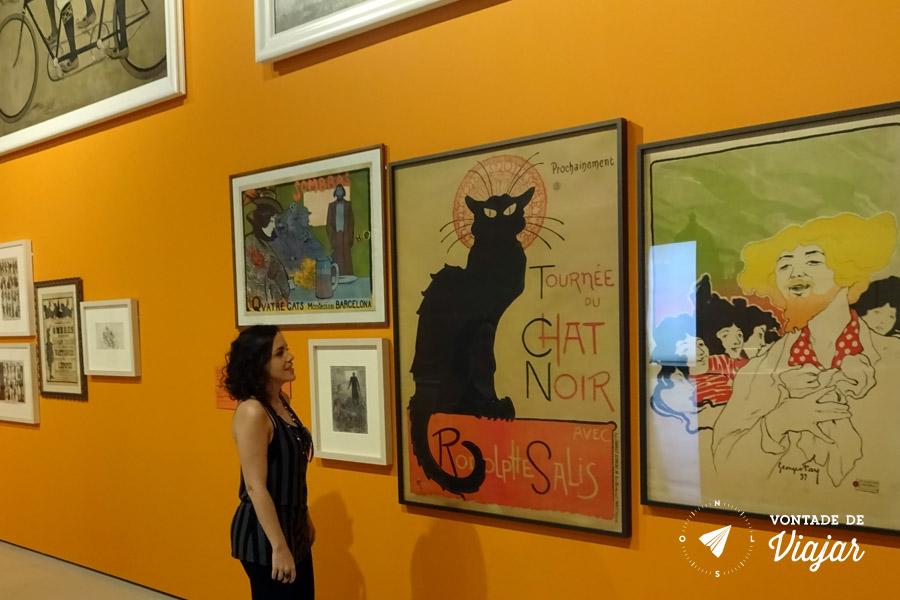 MNAC Barcelona - Poster Le Chat Noir - Steinlen