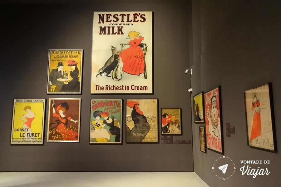 MNAC Barcelona - posters modernistas