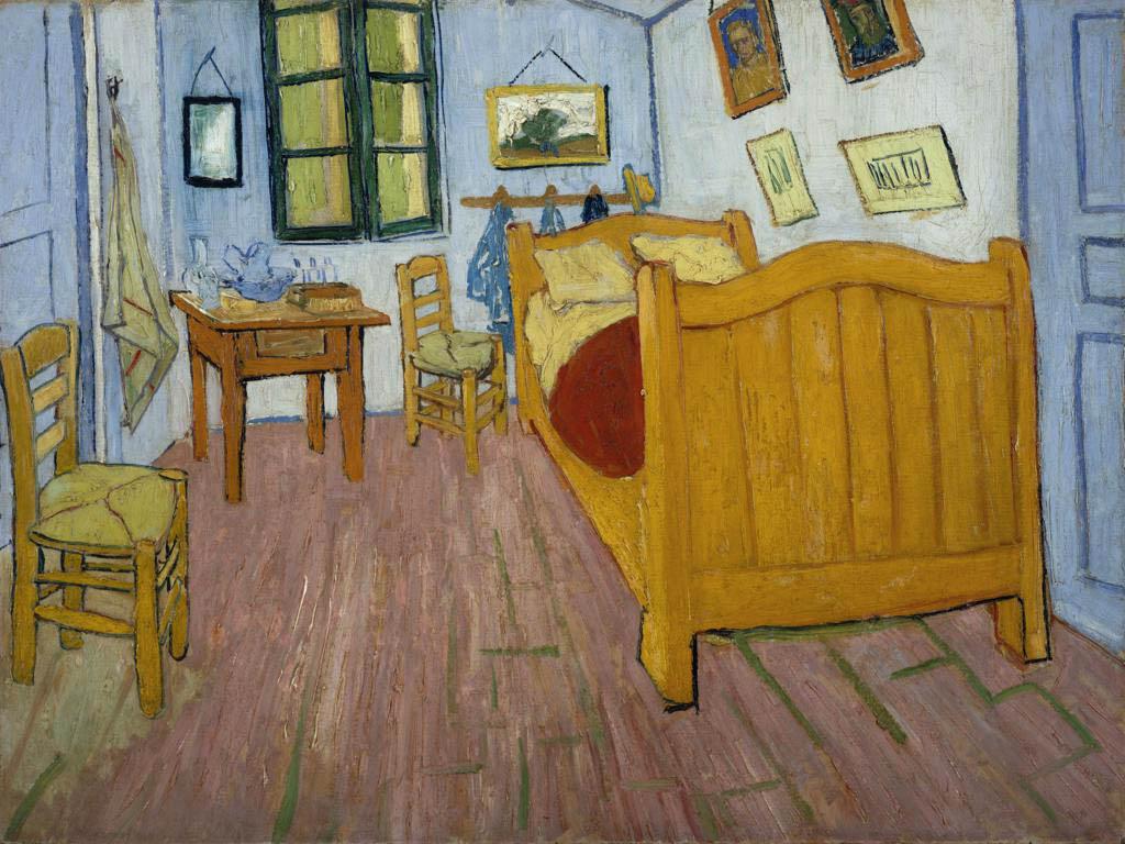Van Gogh -Quarto em Arles 1888 - Museu Van Gogh Amesterdam