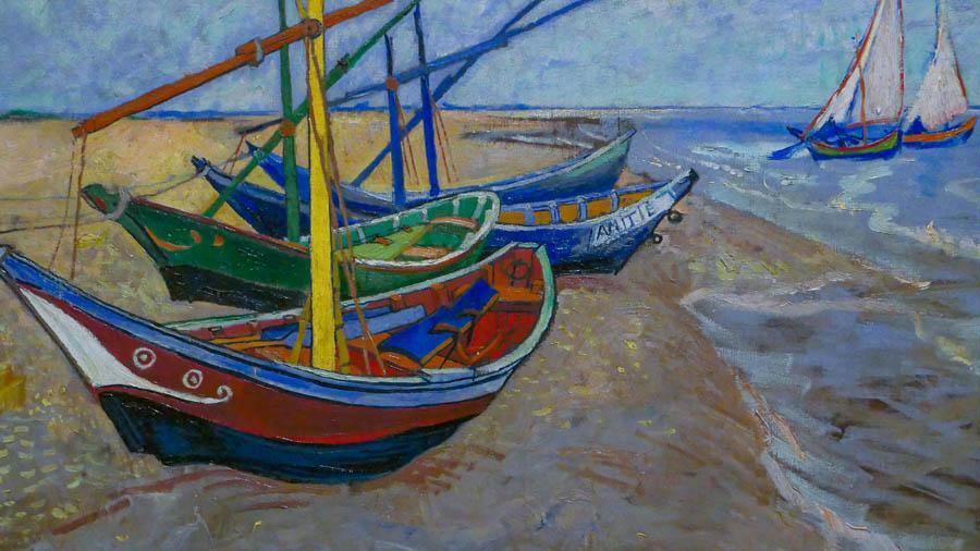 Van Gogh em Provence - Serie Saintes-Maries-de-la-Mer