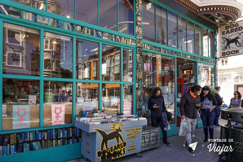 O que fazer em San Francisco California - Dog Eared Books