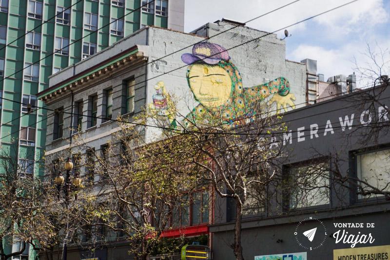 O que fazer em San Francisco California - Graffiti