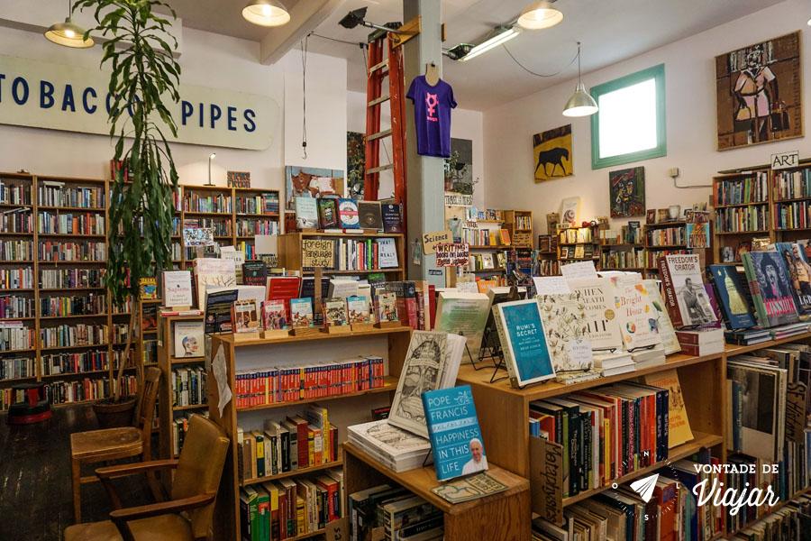 O que fazer em San Francisco California - Livraria Dog Eared Books