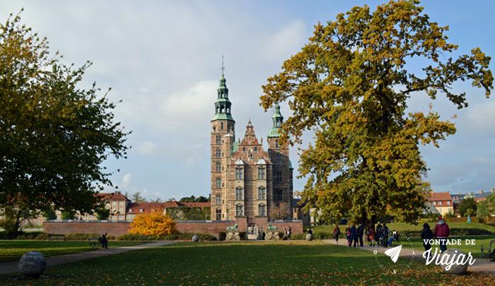 O que fazer em Copenhague - Castelo Rosenborg - Foto Ludmila Ravazi