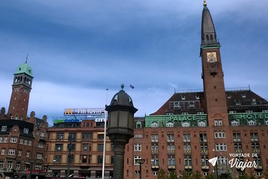 O que fazer em Copenhague - prefeitura Radhus - Foto Sarah Huber