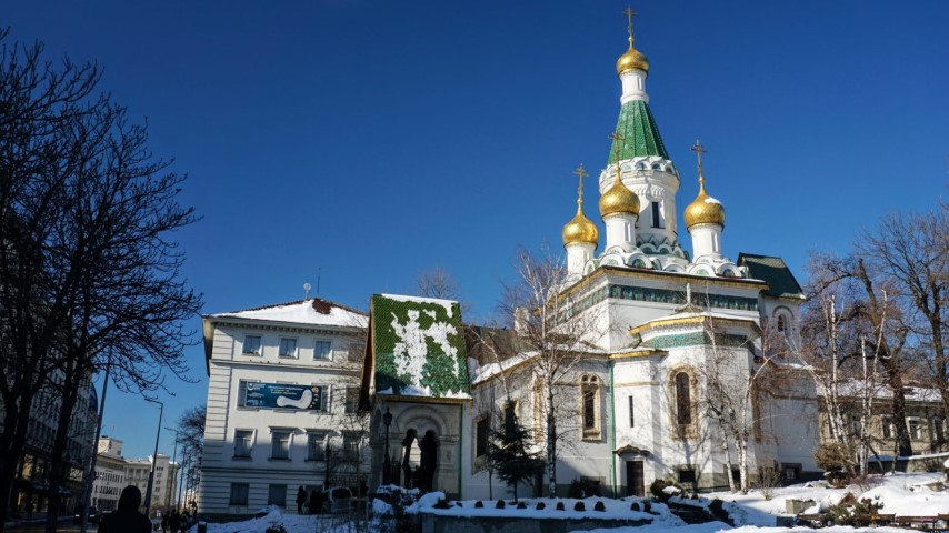 O que fazer em Sofia Bulgaria - Igreja San Nicolas