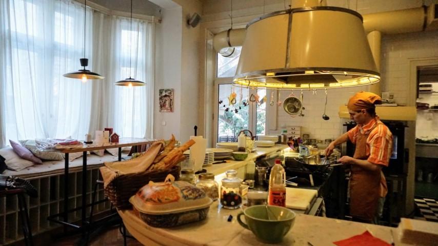 O que fazer em Sofia Bulgaria - Restaurante Lavanda