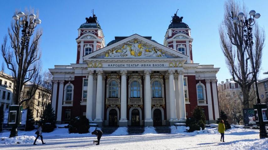 O que fazer em Sofia Bulgaria - Teatro Nacional Ivan Vazov