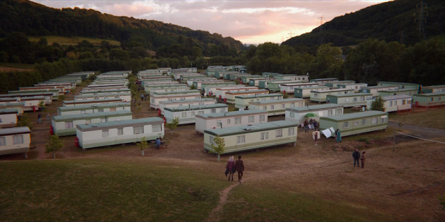 Onde e a casa da Maeve da serie Sex Education Netflix - Sterretts Caravan Park em Symonds Yat West