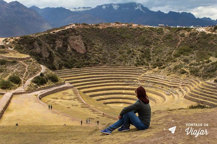 O que fazer em Cusco Peru - Maras e Moray - Foto Klecia Cassemiro