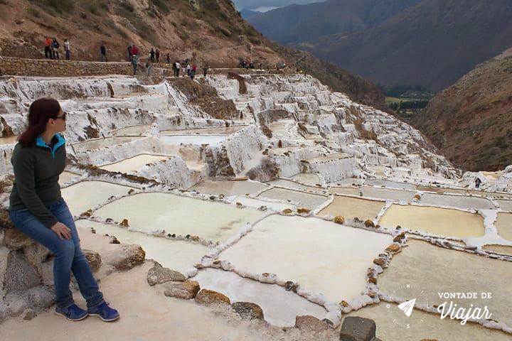 O que fazer em Cusco Peru - Salineras de Maras - Foto Klecia Cassemiro