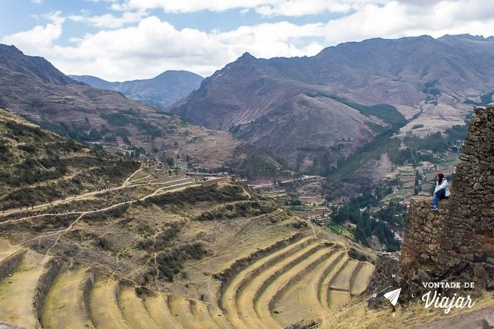 O que fazer em Cusco Peru - Vale Sagrado dos Incas Pisac - Foto Klecia Cassemiro
