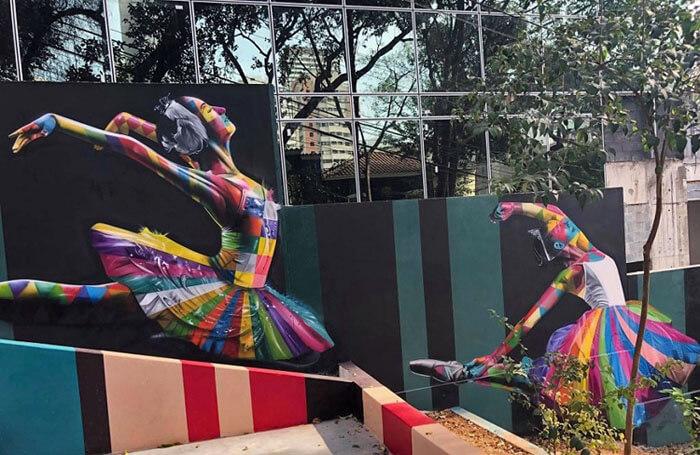 Kobra Escadaria das Bailarinas Pinheiros SP