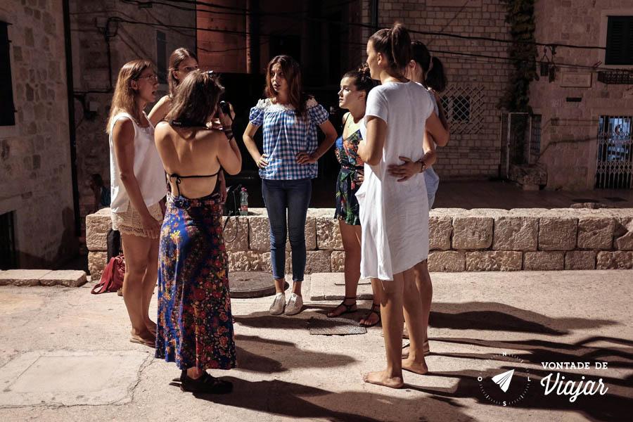 Viagem Croacia - Luse grupo de klapa em Split